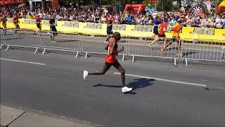 Top 3 Marathon Läufer erreichen das Ziel [VCM 2018]