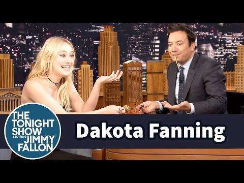 Dakota Fanning and Jimmy Prove Spaghetti is the Worst Date Food