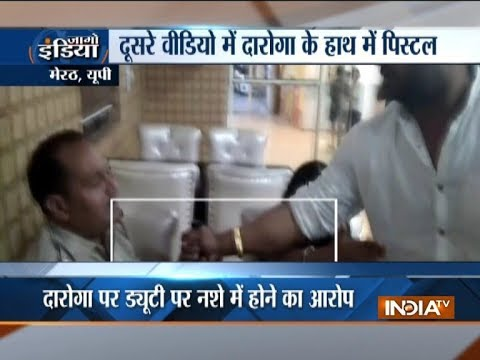 Xxx Mp4 Uttar Pradesh Police Inspector Beaten By Local BJP Leader In Meerut 3gp Sex