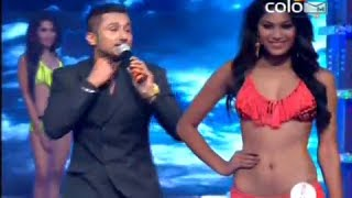 honey singh live performance at fbb femina miss india 2014