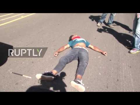 Xxx Mp4 Honduras Violence Erupts As Protesters Rally Against Highway Privatisation 3gp Sex