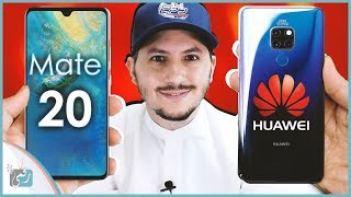 معاينة هواوي ميت 20 - Huawei Mate 20   جديد هواوي لمنافسة النوت 9 🔥