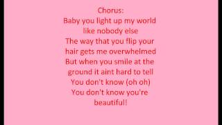 One Direction What Makes You Beautiful with Lyrics :D