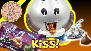 Halloween Spooky Hershey Kisses & Pumpkin Spice Giant Hershey Candy Dispenser