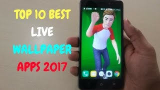 TOP 10 Best Live Wallpaper for Android 2017 | Hindi |