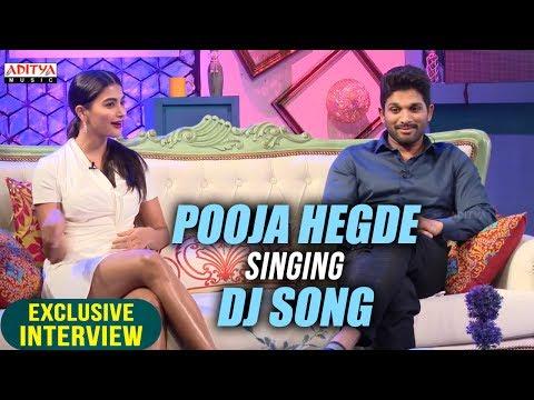 Xxx Mp4 Pooja Hegde Singing Dj Song Allu Arjun Pooja Hegde Exclusive Interview About DJ 3gp Sex