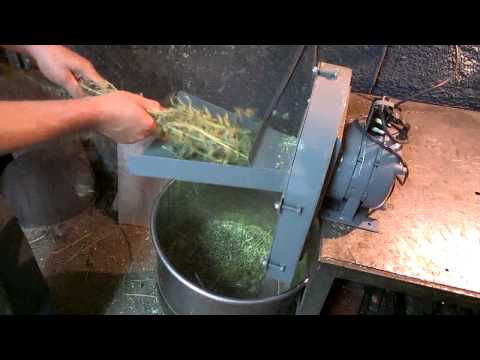 Как сделать измельчитель травы своими руками видео