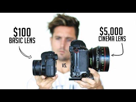 Xxx Mp4 100 Camera Lens VS 5 000 Cinema Lens Explained 3gp Sex