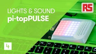 Lights & Sound on your Raspberry Pi - pi-topPULSE