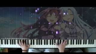 「Sword Art Online II」 ED3 - Shirushi シルシ (piano solo) // LiSA