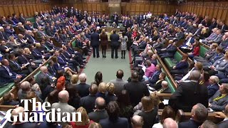 MPs find government in contempt of parliament in historic motion