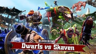 Blood Bowl 2: Dwarfs Vs Skaven - Gameplay