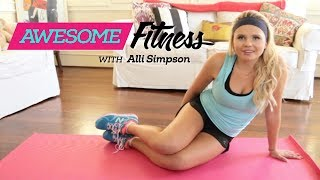 Alli Simpson AwesomeFITNESS: Killer Abs Workout