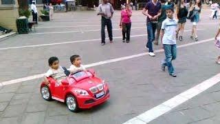 Bd baby crazy car riding monaja