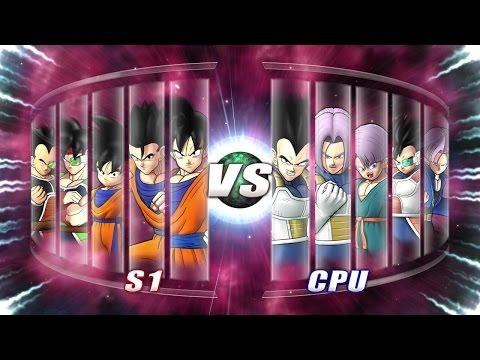 Dragonball Z Family Battle Goku vs. Vegeta