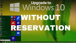 HOW TO STILL INSTALL WINDOWS 10 FOR FREE