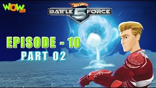 Motu Patlu presents Hot Wheels Battle Force 5 - Man Down - Episode 10-P2 - in Hindi