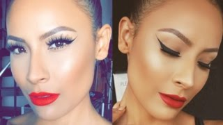 Bold Winged Liner - Red Lip