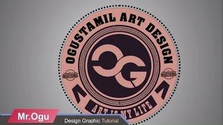 Cara Membuat Distro Logo Vintage I Coreldraw X7