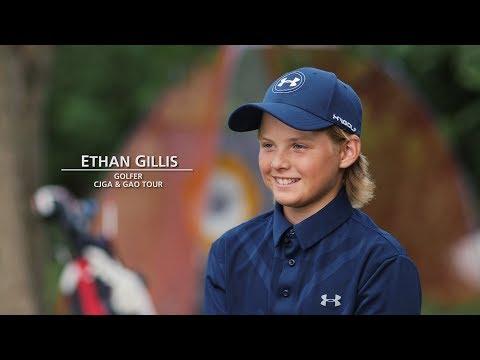 Ethan Gillis Junior Golfer