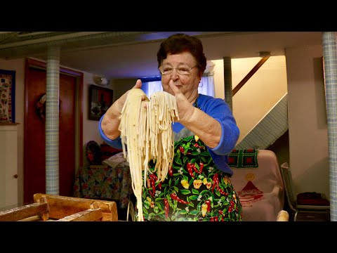Pasta Grannies meets Nonna Maria from New Jersey