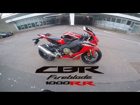 NEW CBR1000RR 2017 FIRST TEST RIDE IN LONDON