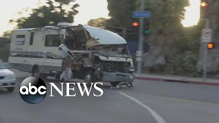 Watch RV driver lead police on high-speed chase