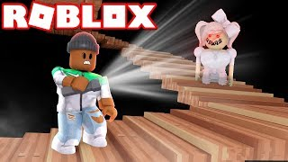 ALONE IN A DARK HOUSE - A Roblox Horror Story