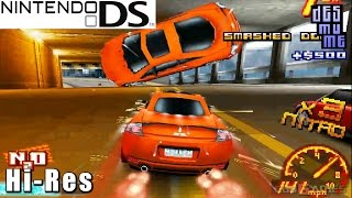 Asphalt: Urban GT 2 -  Nintendo DS Gameplay High Resolution (DeSmuME)