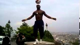 Champion du monde du Football-freestyle