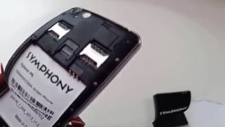 how to hard reset symphony xplorer p6 and Remove Pattern Lock