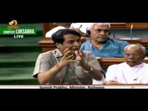 Suresh Prabhu In Lok Sabha | Deliberate Misinformation Being Spread Over Bullet Trains | Mango News