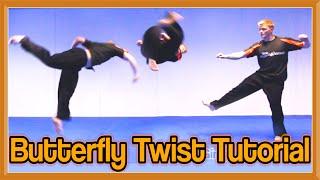Butterfly Twist Tutorial (B-Twist)   GNT How to