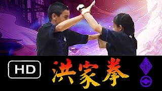 Original Hung Gar Gung Ji Fook Fu Doi Dar Fighting Form