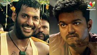 Vishal gets ready to clash with Vijay | Theri, Maruthu | Hot Tamil Cinema News