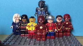 Lego The Flash Season 3 Custom Minifigure Showcase!!! ⚡️