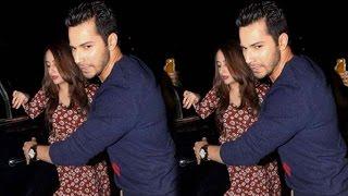 SPOTTED! Varun Dhawan With Natasha Dalal At Anil Kapoor