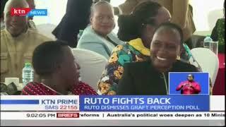 Ruto and Waiguru take swipe at IPSOS poll