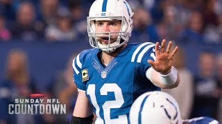 Andrew Luck to test shoulder and weigh surgery options   NFL Countdown   ESPN