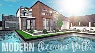 Bloxburg: Modern Oceanic Villa 109K
