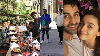 B-Town New couple Ranbir Kapoor and Alia Bhatt having fun in Bulgaria for Bhramastra shooting