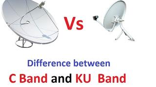 C Band And Ku Band Dish me Kya Difference hai ? Difference between C Band Aur KU Band dish antena