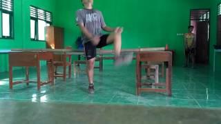 Teknik jumping tinggi ala tradisional
