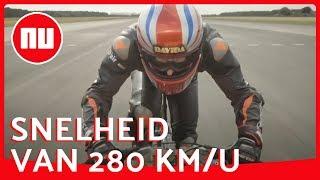 Britse fietser breekt Nederlands snelheidsrecord voor mannen   NU nl