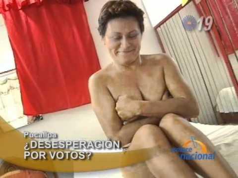 Candidata al Congreso se desnuda para conseguir votos