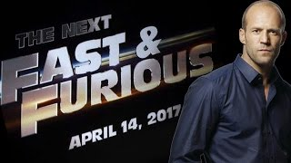 Jason Statham To Return For FAST AND THE FURIOUS 8 - AMC Movie News
