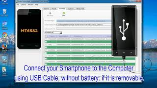 How to Flash Any MTK Android using Smartphone Flash Tool