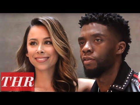 'Black Panther' Star Chadwick Boseman & Stylist Ashley Weston | THR