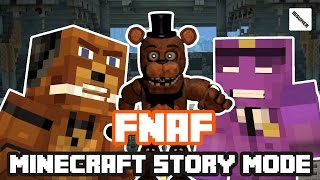 FNAF Freddy vs Purple Guy! Minecraft Story Mode (FNAF Theme)