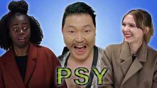 AMERICANS REACT TO PSY - DADDY (Ft. CL of 2NE1)